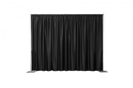 Curtain back drop