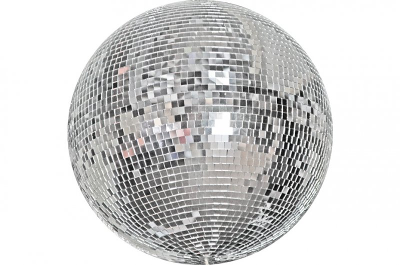 Mirror Ball with motor and two spots lights