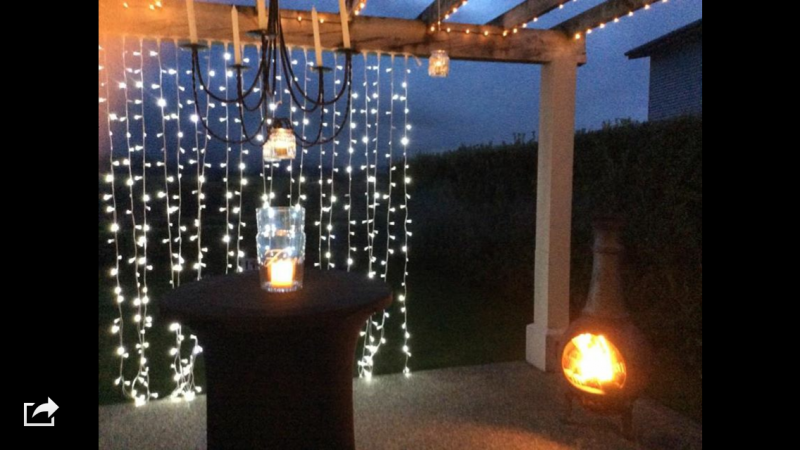 Curtain Fairy Lights - lights only