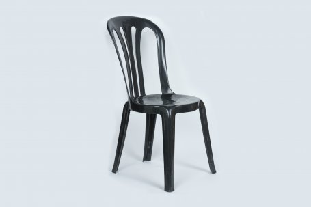Chair Cafe Stacking  Black