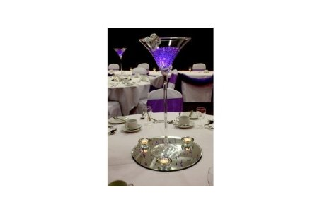 Glass Martini Vase